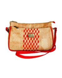 cork bag red