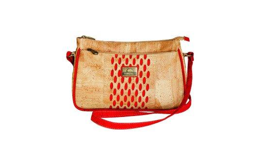 cork bag red