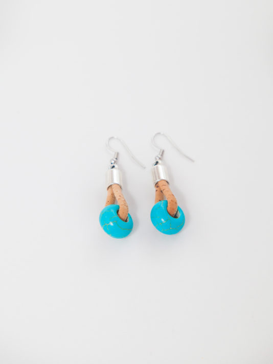CORK EARRINGS TBAZ