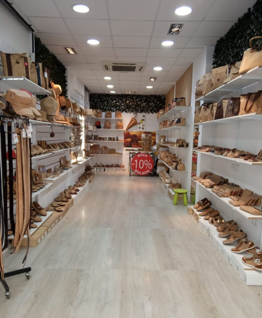 Cork Shop in Spain Malaga Rhonda