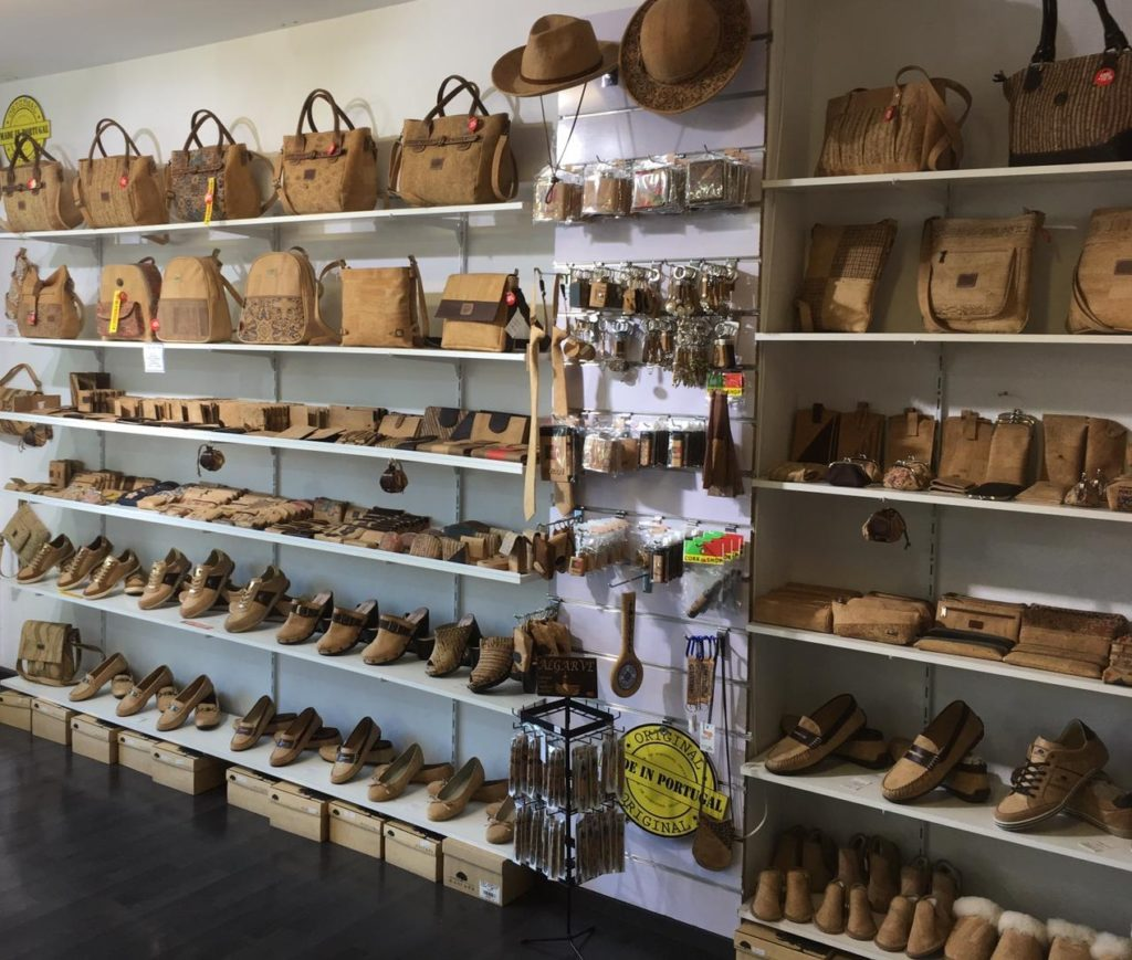 Cork Shop in Portugal Albufeira