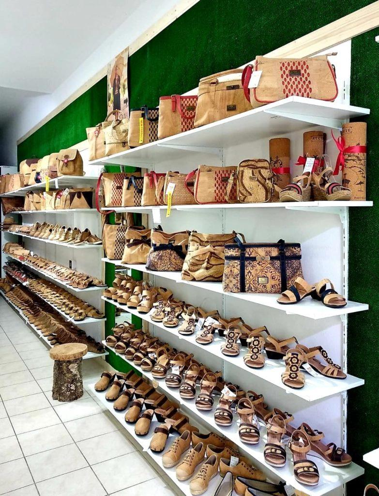 Cork Shop in Portugal Alvor