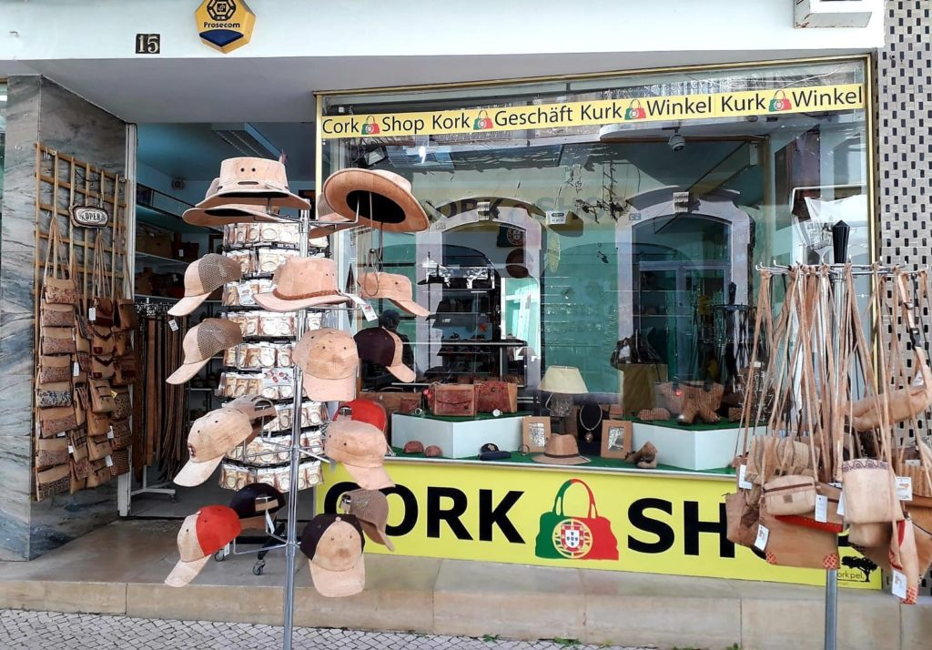 Cork Shop in Portugal Loule