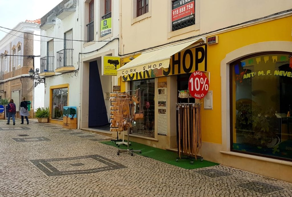 Cork Shop in Portugal Silves