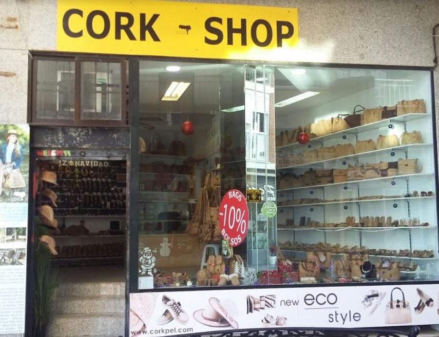 Cork Shop in Spain Fuengirola Spain street