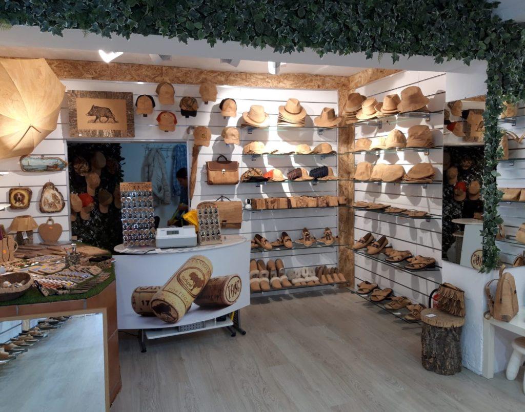 Cork Shop in Spain Málaga Torremolinos
