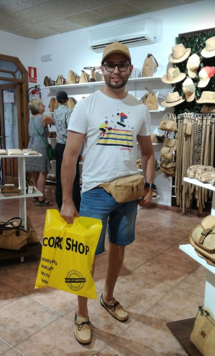 Cork Shop in Spain Malaga Frigiliana