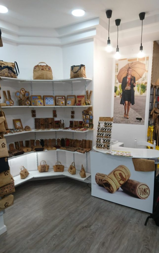 Cork Shop in Spain Malaga street Company