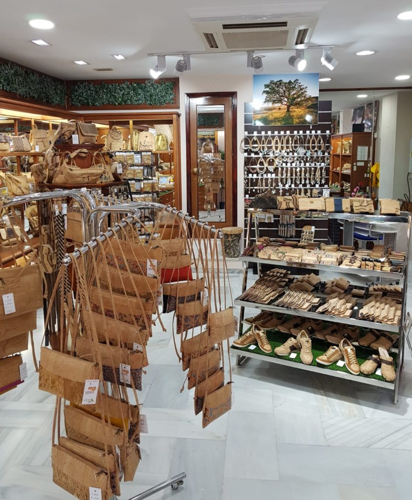 Cork Shop in Spain Marbella