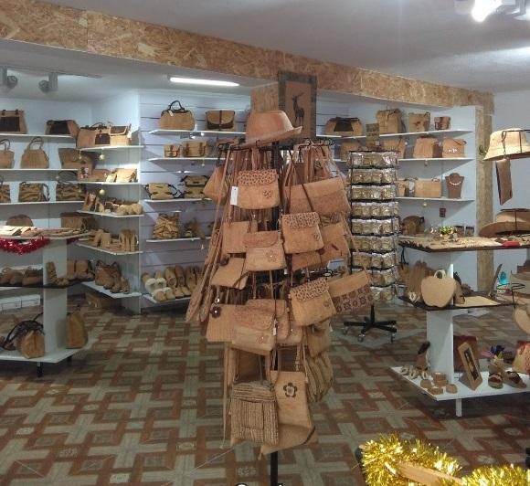 Cork Shop in Spain Mijas