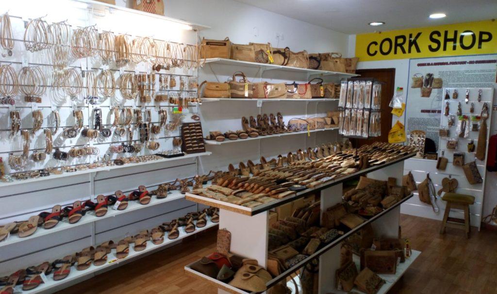 Cork Shop in Portugal Olhos de Agua