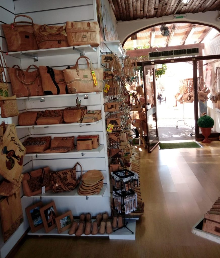 Cork Shop in Portugal Vilamoura